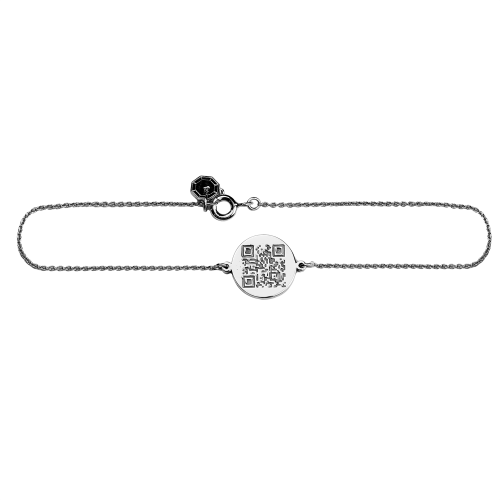 ALEXA authentic bracelet with QR-code