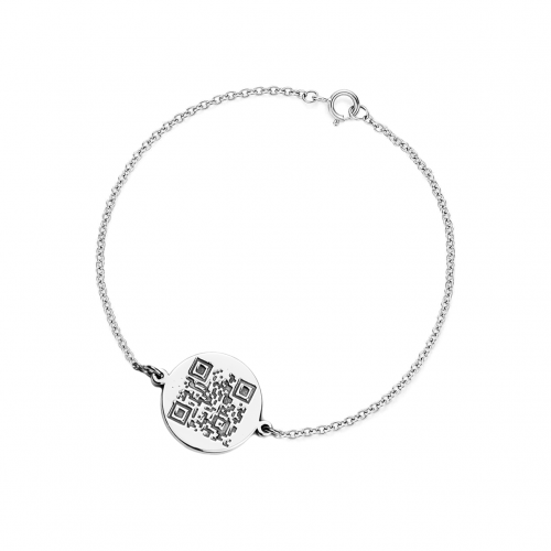 ALEXA authentic bracelet with QR-code