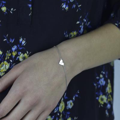 Zlatý náramek s diamantem CINDY