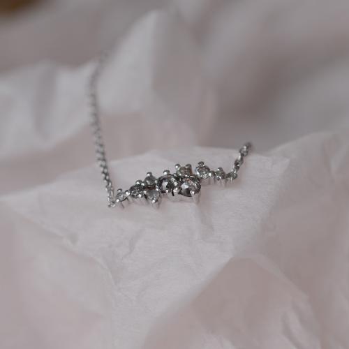 Gold bracelet with diamonds salt and pepper diamonds CLARE
