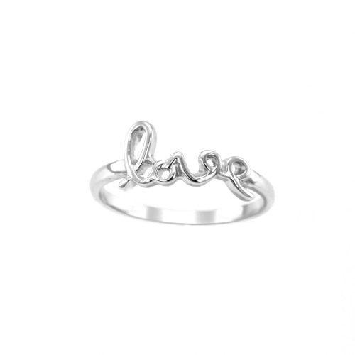 Unique Sterling Silver and Gold love ring ASKOY