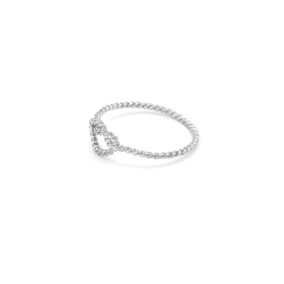 Originální prsten ve tvaru uzlu ze zlata NODE