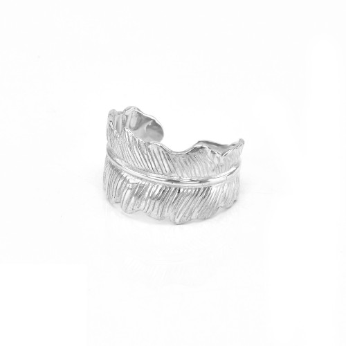 Original Sterling Silver ring LEAF