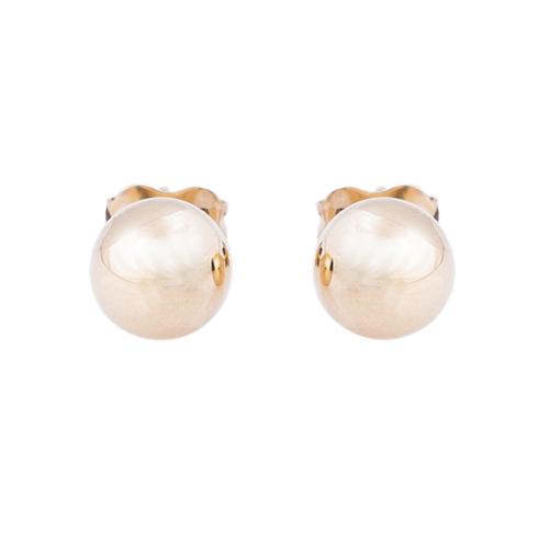 Gold ball earrings ALIANO