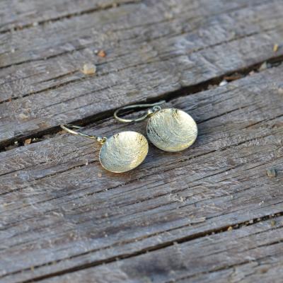 BARBARA Gold earrings