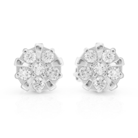 GRACI classic gold diamond earrings