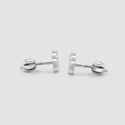 GRACI classic silver zirkons earrings