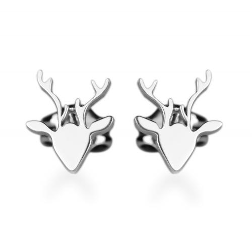 LILLY stylish golden earrings