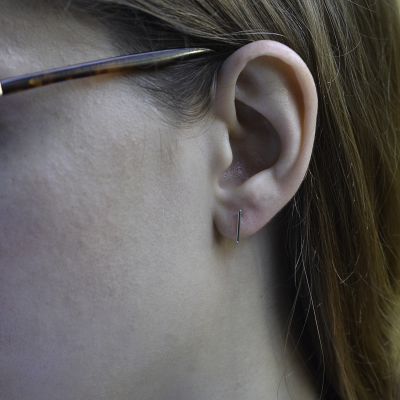 MALTE gold earrings