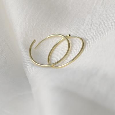 Gold hoop earrings MOZZA