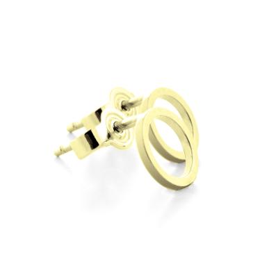 Gold karma earrings - ROLI