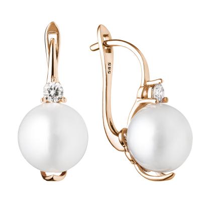 Essential pearl earrings KLANI