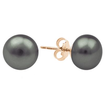 Black pearl studs VASKI