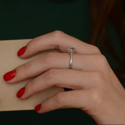 Zlatý prsten s rutil quartzem STAIM