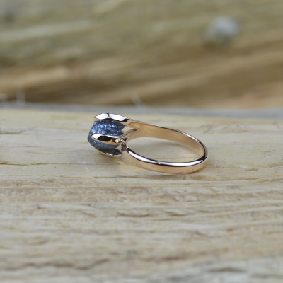 White gold ring with raw diamond  0.95ct HORME