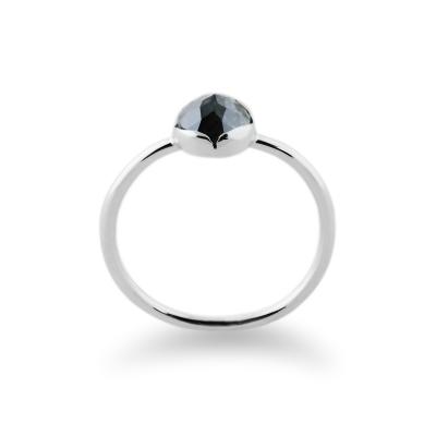 KLIO gold natural diamond 0.87Ct ring