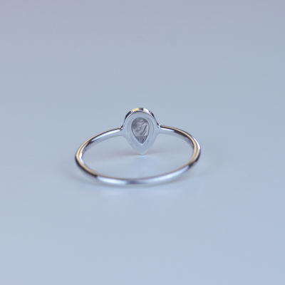 REANNA gold ring with salt and pepper diamond 0.3ct