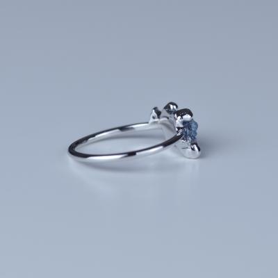 Prsten z zlata se surovým diamantem 1.22ct TRACY