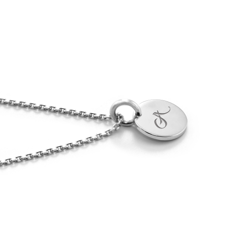 Minimalist necklace with engraving option ALTA