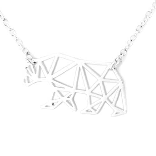 BALLE authentic polar bear necklace