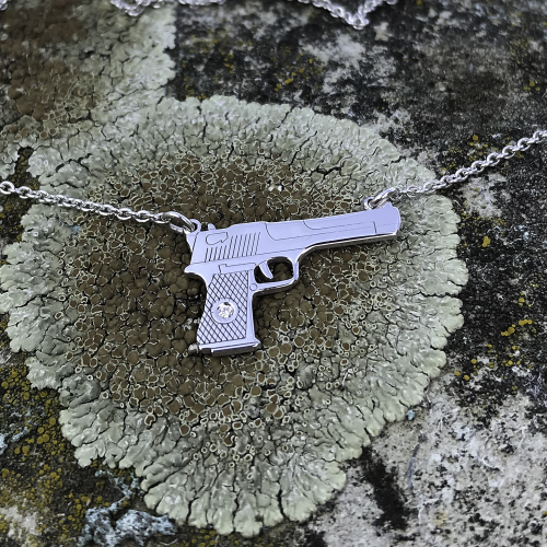 Authentic pendant GUN Limited edition