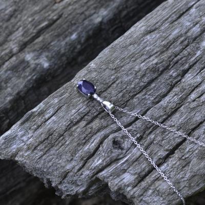 KELI elegant sapphire pendant