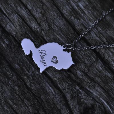 MUYA cat shape pendant
