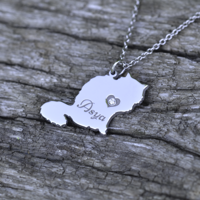 MUYA cat shape pendant