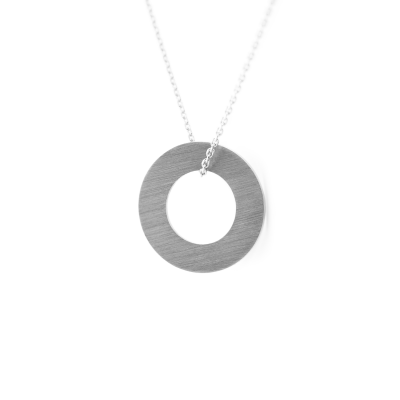 Necklace with the ring SOLOBA