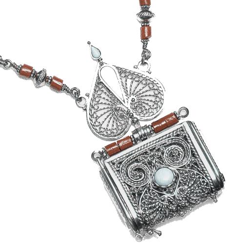 Original sterling silver eastern amulet TOOMOR