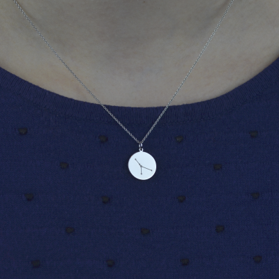 Pendant with a zodiac constellation ZODIAC