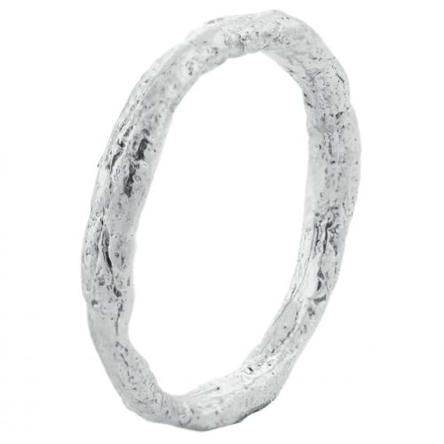 Minimalist gold wedding rings FLATEN