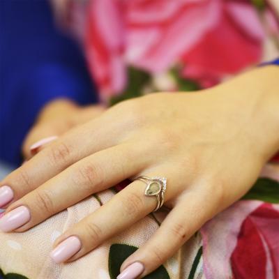 Diamond matching ring HARIS