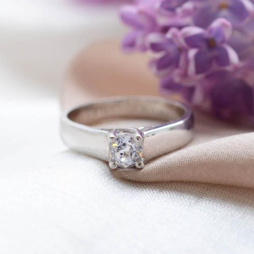 Zásnubní prsten s diamantem 0.25ct HEIM
