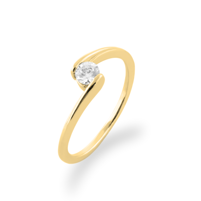 Original engagement ring with diamonds HELSE