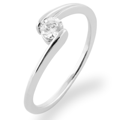 HELSE platinum diamond engagement ring