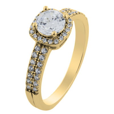 KATI gold diamond engagement ring