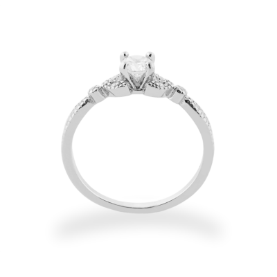 KREKE gold diamond engagement ring