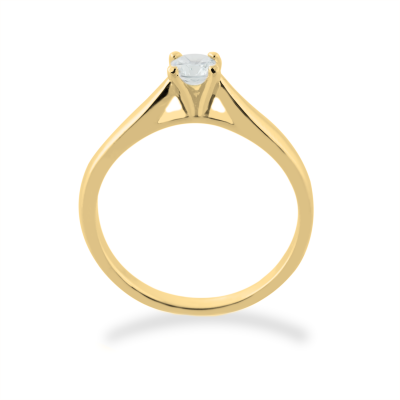 LOVIN gold engagement ring with diamond 0.25ct