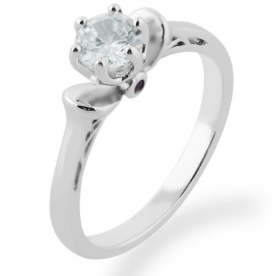 RISTE diamond engagement ring 0.4ct