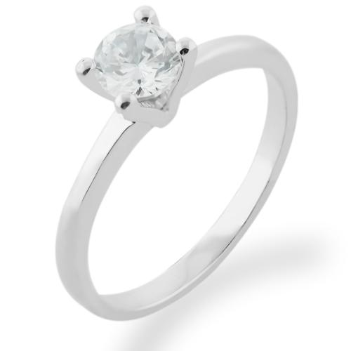 SEMLE delicate gold diamond engagement ring