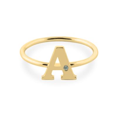 SKIBI name diamond ring