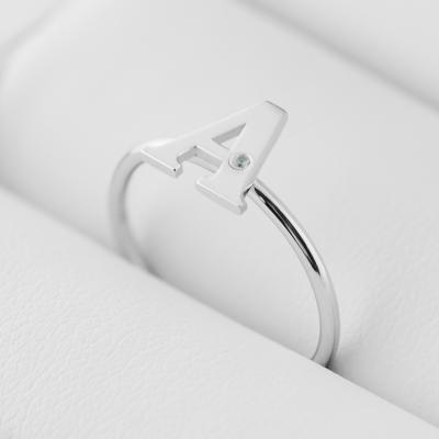 Personalizovaný prsten s diamantem SKIBI