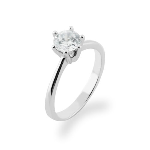 STAMI gold diamond engagement ring