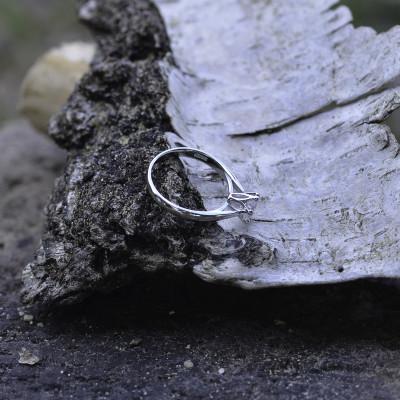 TRINO classic engagement diamond ring 0.3ct