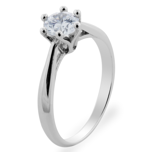 TRINO classic engagement diamond ring 0.3ct