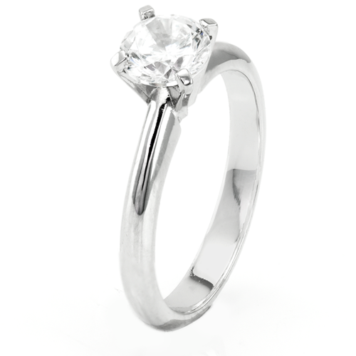 Soliter engagement ring with diamond 0.4ct VEITA