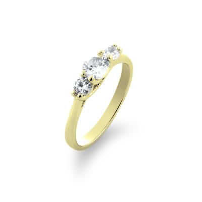 VIZO gold diamond dressing engagement ring - the symbol of perfect taste