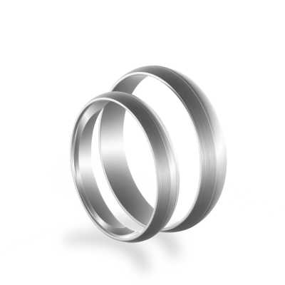 BRANSE gold wedding rings - authentic classic