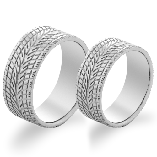 Relievo wedding ring - BRUGATA